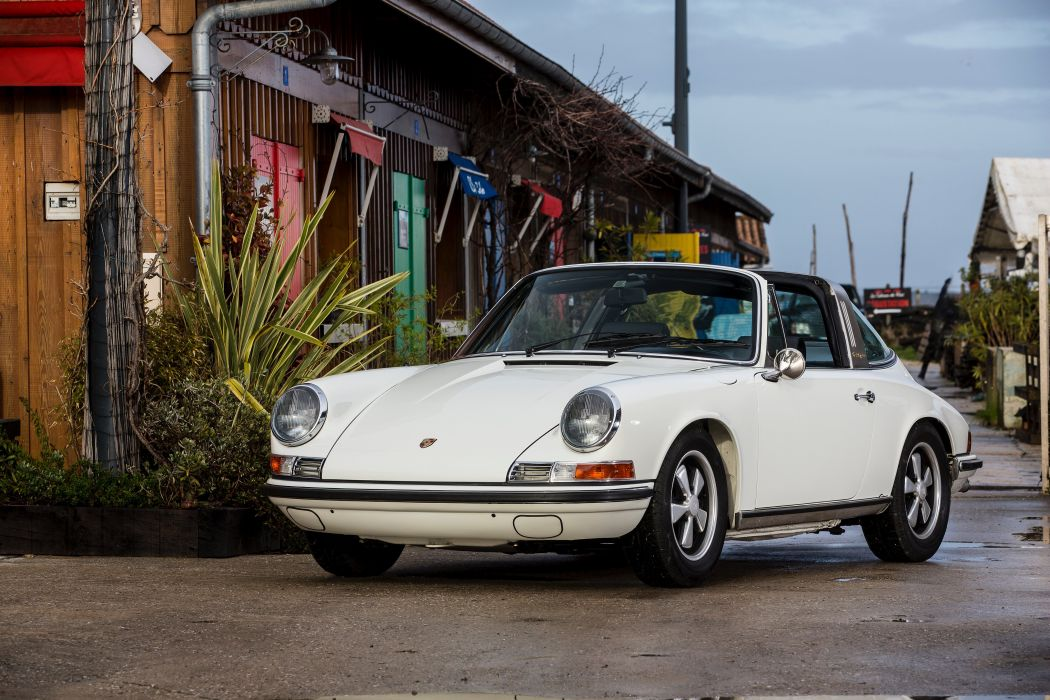 Porsche 911 S 2 2 Targa (911) cars white 1969 1971 wallpaper