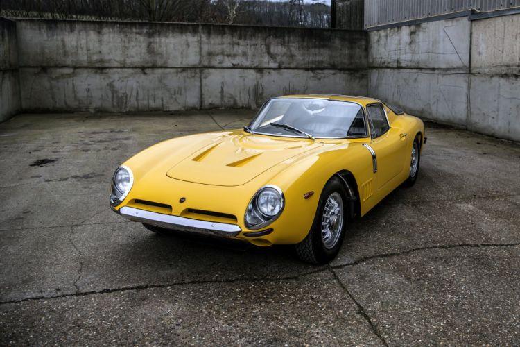 Bizzarrini 5300 GT Strada cars classic yellow 1966 67 wallpaper