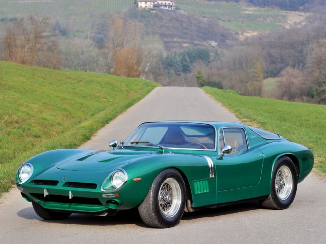 Bizzarrini 5300 GT Strada cars classic 1967 1968 wallpaper
