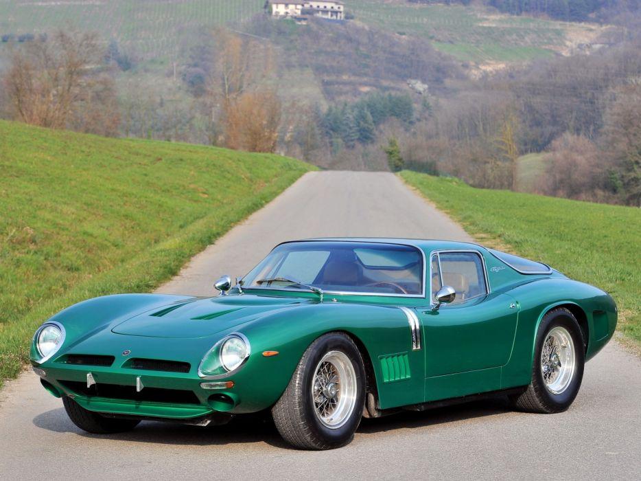 Bizzarrini 5300 GT Strada cars classic 1967 1968 wallpaper