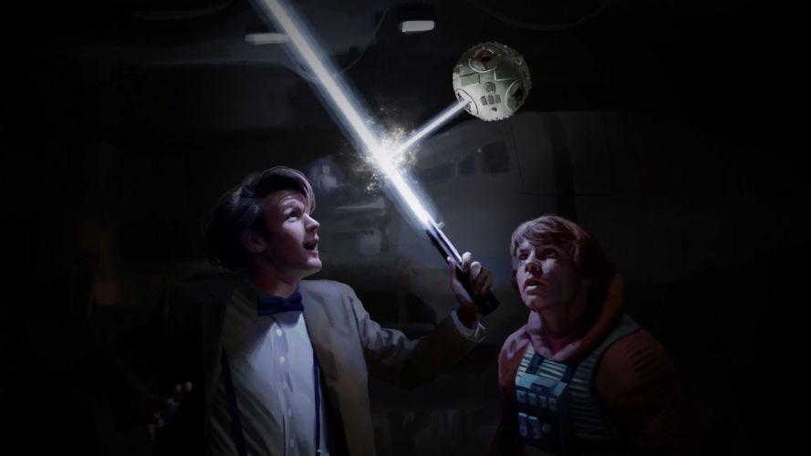 DOCTOR WHO bbc sci-fi futuristic series comedy adventure drama 1dwho star wars wallpaper