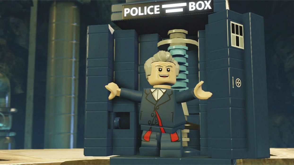 DOCTOR WHO bbc sci-fi futuristic series comedy adventure drama 1dwho tardis lego wallpaper