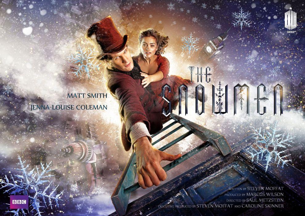 DOCTOR WHO bbc sci-fi futuristic series comedy adventure drama 1dwho tardis poster christmas wallpaper