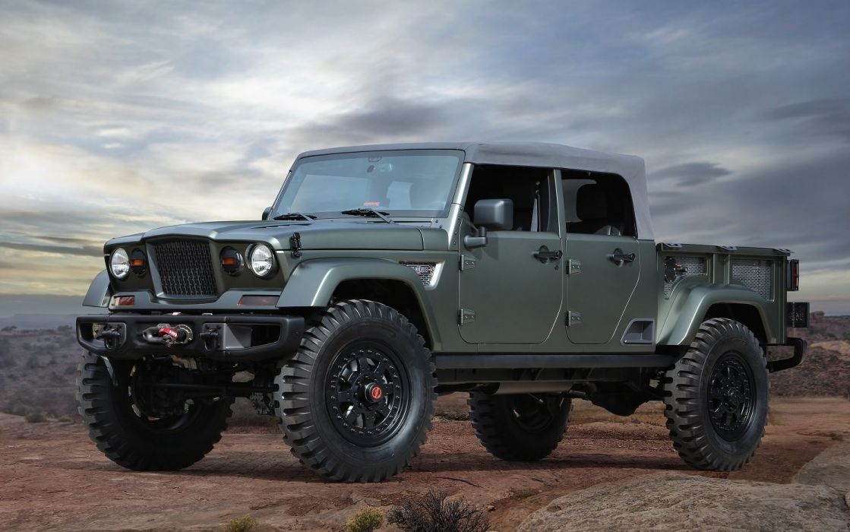 Jeep Crew Chief 715 Concept cars 4x4 2016 wallpaper