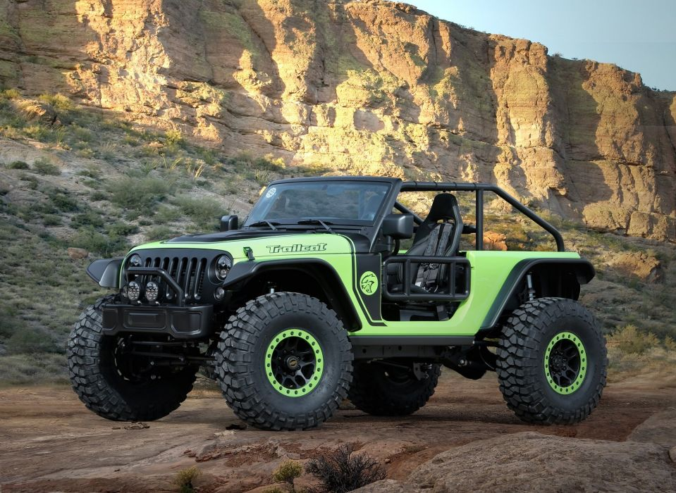 Jeep Trailcat Concept cars 4x4 2016 wallpaper