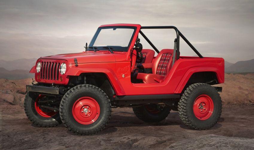 Jeep Shortcut Concept cars 4x4 2016 wallpaper