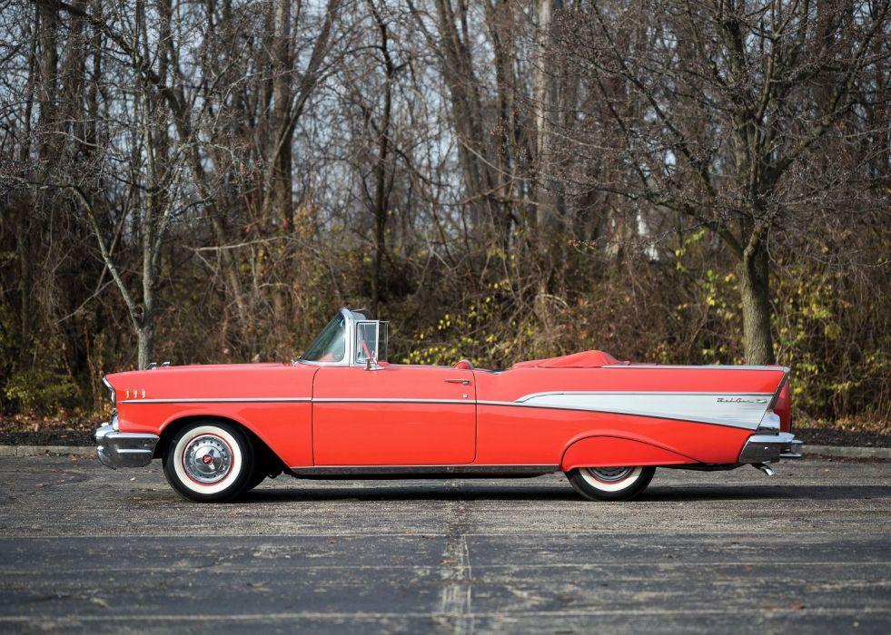 1957 Chevrolet Bel Air Convertible cars classic wallpaper