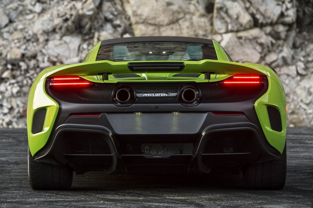 2016 McLaren 675LT cars coupe green wallpaper