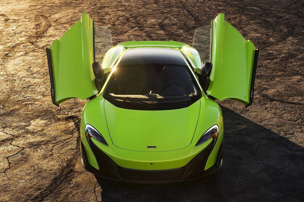 2016 McLaren 675LT cars coupe green wallpaper