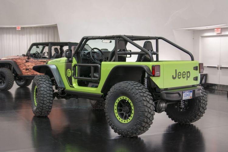 Jeep Trailcat Concept cars 4x4 2016 wallpaper