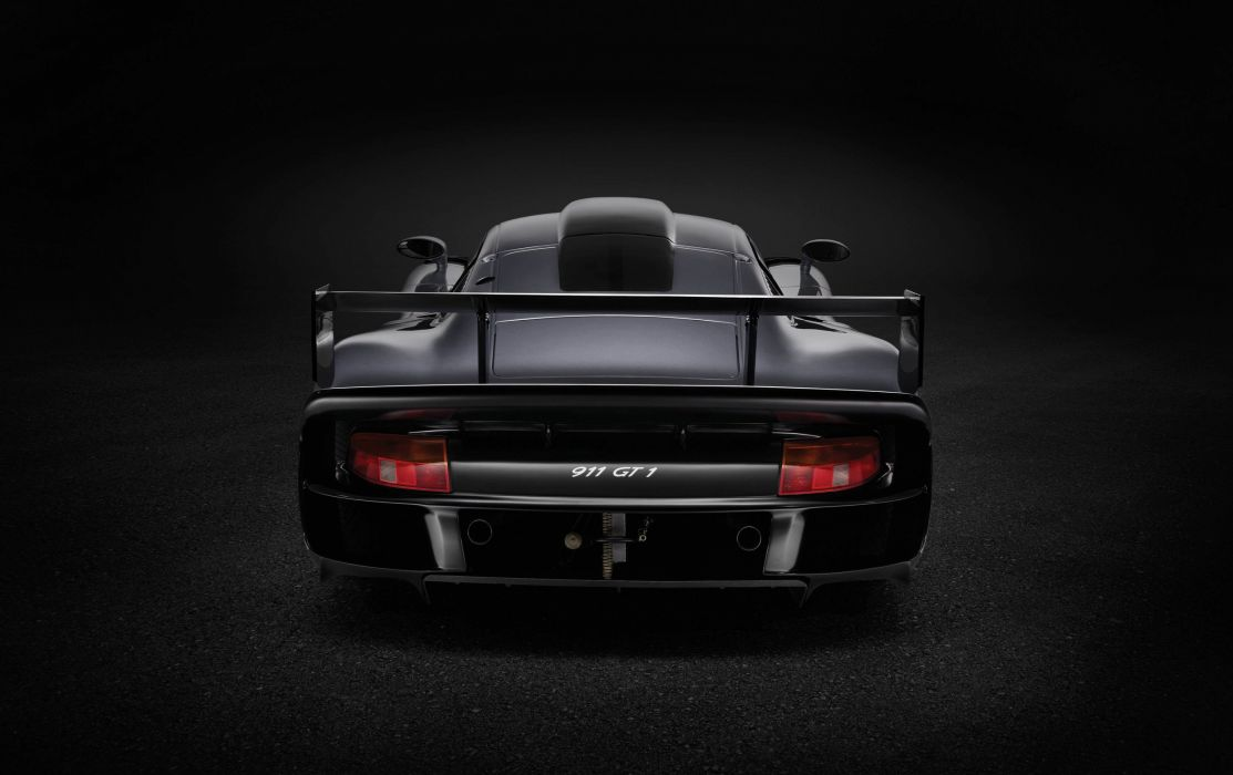1997 Porsche 911 GT1 Evolution cars racecars wallpaper