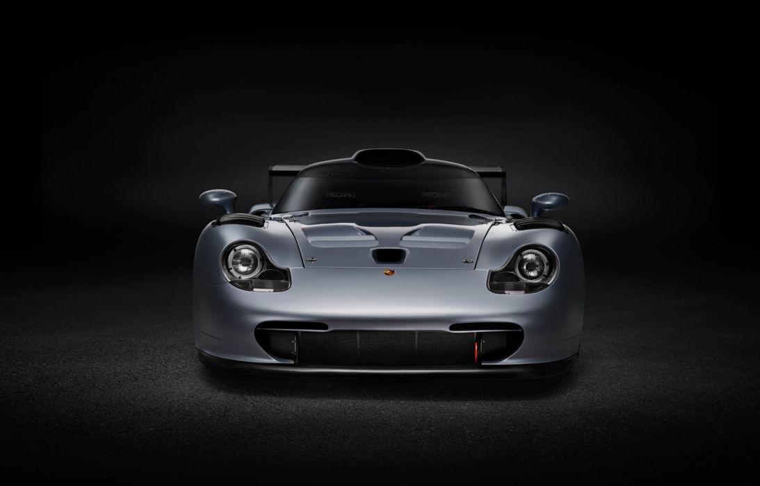 1997 Porsche 911 GT1 Evolution cars racecars wallpaper