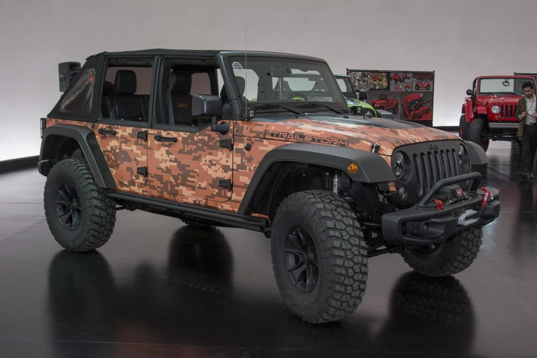 JEEP WRANGLER TRAILSTORM Concept cars 4x4 2016 wallpaper