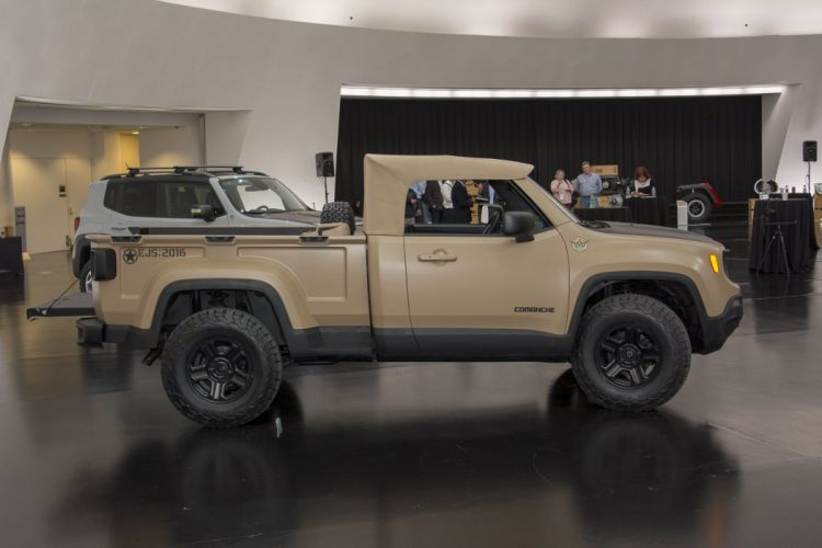 JEEP COMANCHE Concept cars 4x4 2016 wallpaper