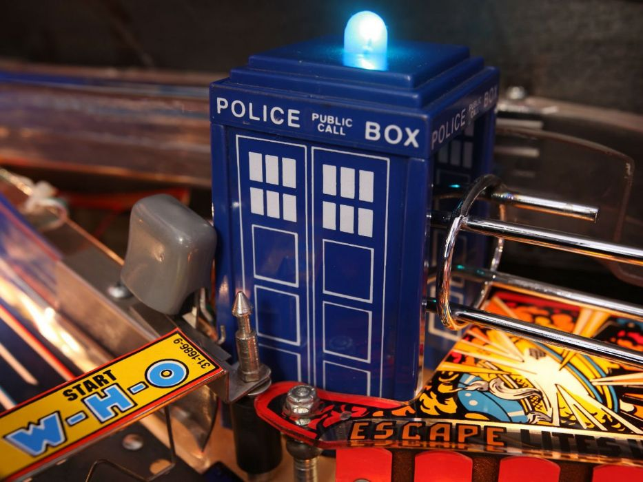 DOCTOR WHO bbc sci-fi futuristic series comedy adventure drama 1dwho tardis poster pinball wallpaper