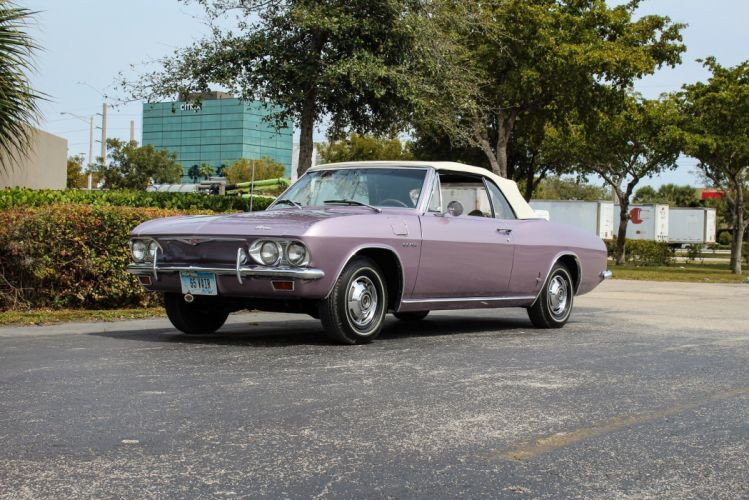 1965 Chevrolet Corvair Corsa Turbocharged Convertible cars classic wallpaper