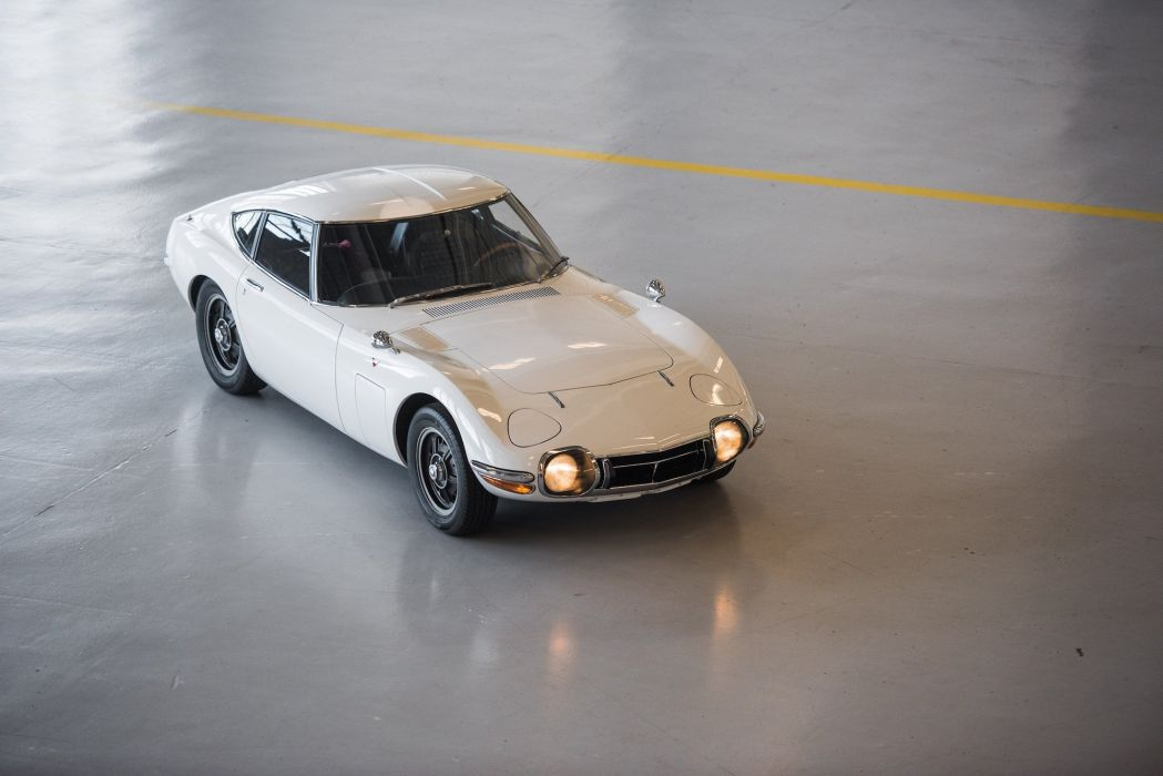 Toyota 2000GT 1967 cars coupe white wallpaper