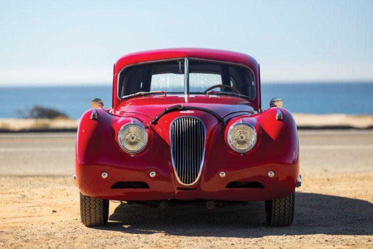 1952 Jaguar XK 120 Fixed Head Coupe cars classic wallpaper