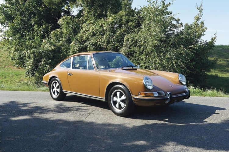 1971 Porsche 911 T Coupe cars classic wallpaper