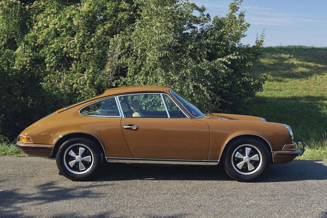 1971 Porsche 911 T Coupe cars classic wallpaper