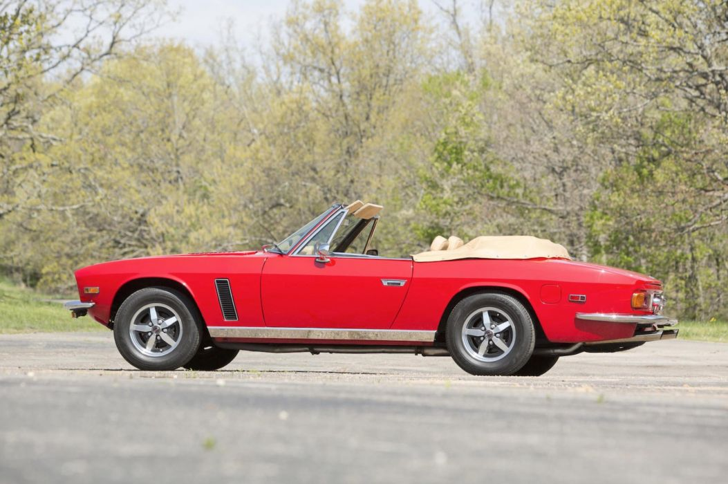 1975 Jensen Interceptor III Convertible cars classic wallpaper