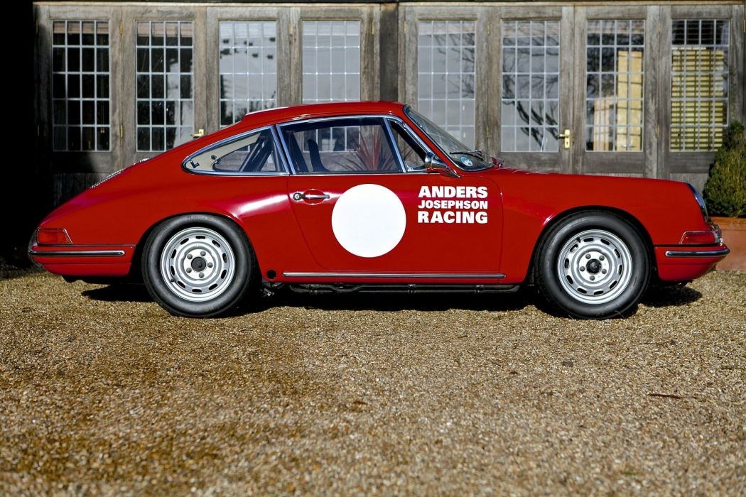 PORSCHE 901 (911) EX-ANDERS JOSEPHSON RACING cars classic wallpaper