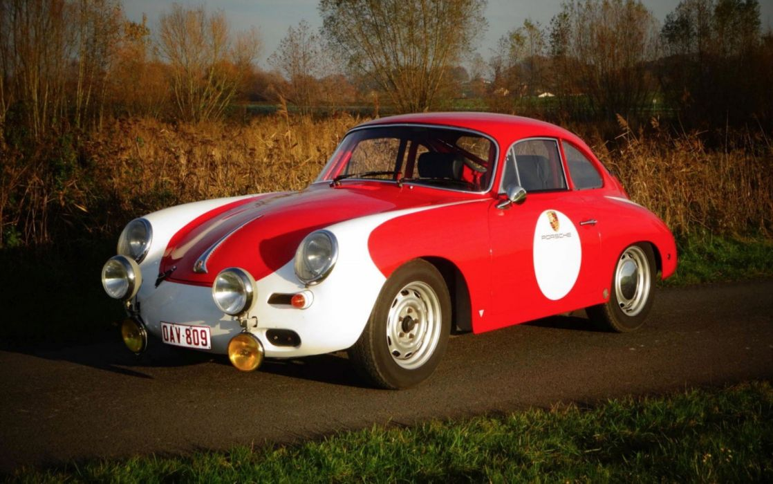 Porsche 356 C 1600 SC coupe 1964 cars classic wallpaper