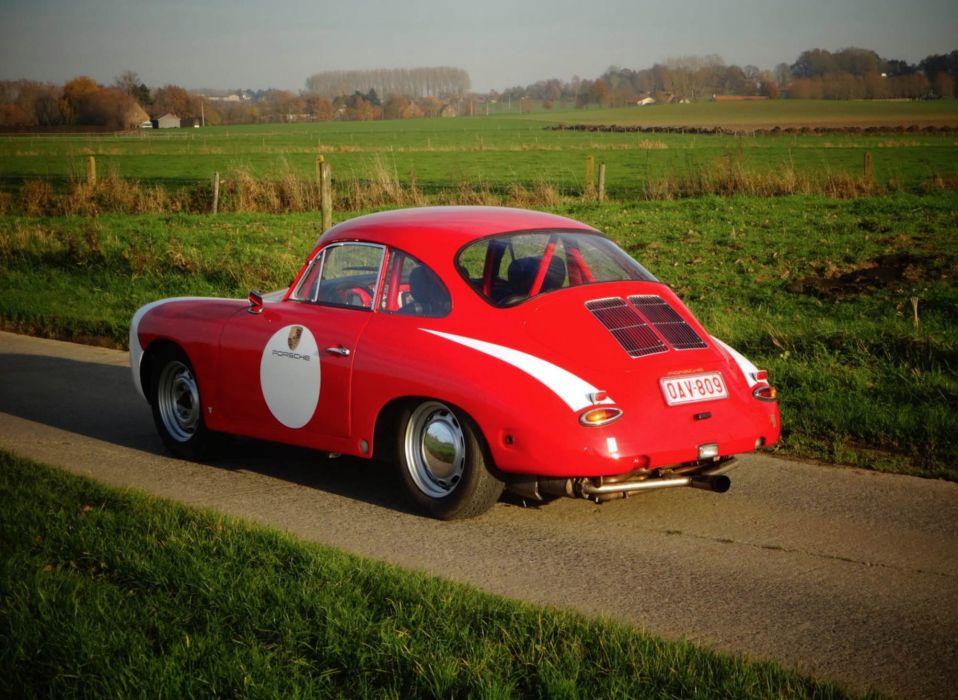 Porsche 356 C 1600 SC coupe 1964 cars classic wallpaper