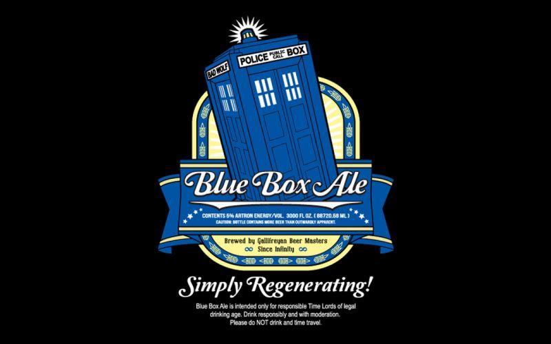 DOCTOR WHO bbc sci-fi futuristic series comedy adventure drama 1dwho tardis poster beer alcohol wallpaper