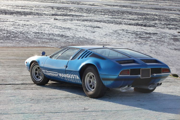 1969 De Tomaso Mangusta blue coupe cars classic wallpaper