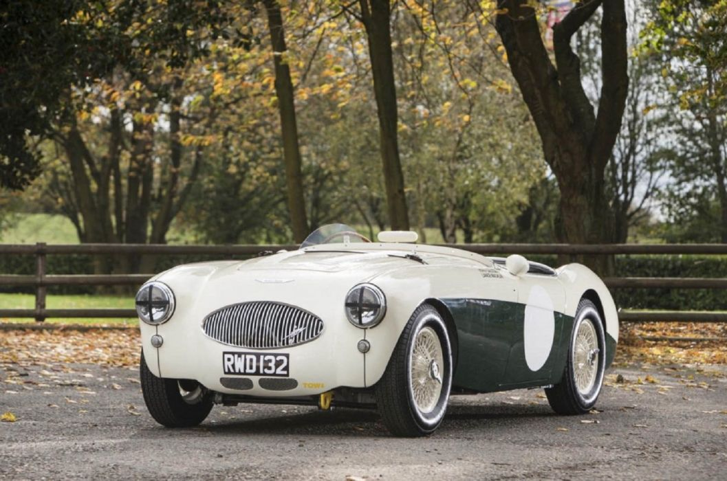 1955 Austin Healey 100S Sports Racing Two-Seater cars classic wallpaper