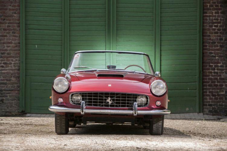 1960 Ferrari 250 GT serie II cabriolet cars classic wallpaper