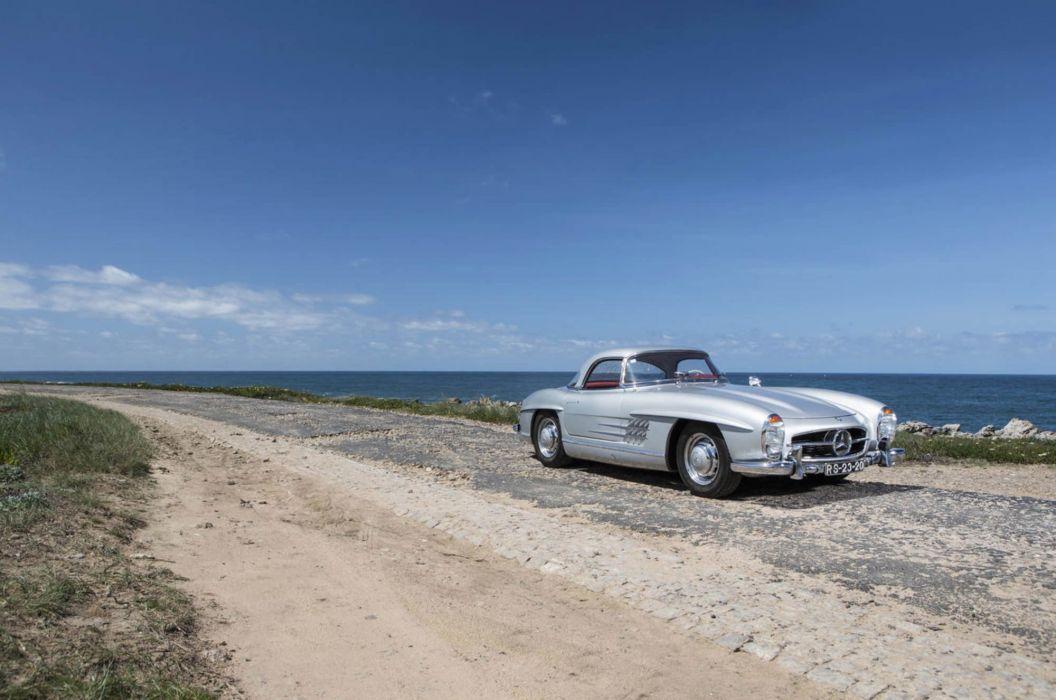 1958 Mercedes Benz 300SL Roadster cars classic wallpaper