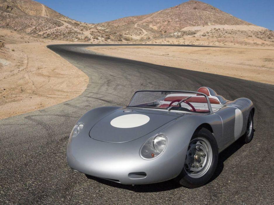 1961 Porsche 718 RS 61 Spyder cars classic wallpaper