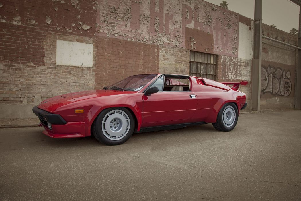 1984 LAMBORGHINI JALPA red cars classic wallpaper