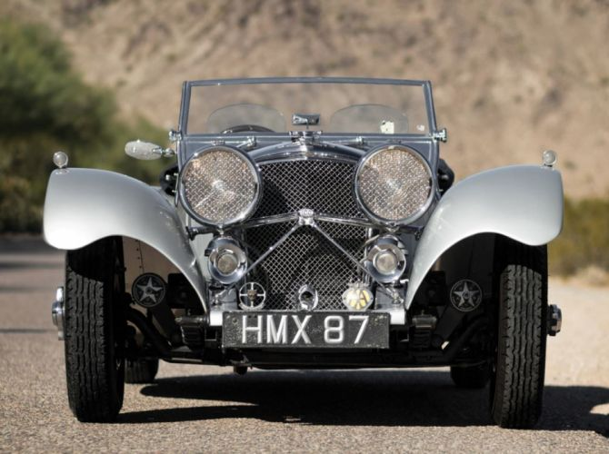 1938 SS 100 Jaguar 3 demi - Litre Roadster cars classic wallpaper
