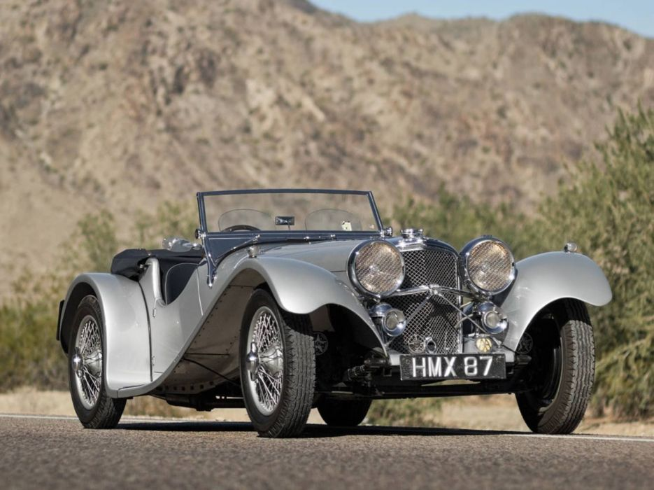 1938 SS 100 Jaguar 3 demi - Litre Roadster cars classic wallpaper