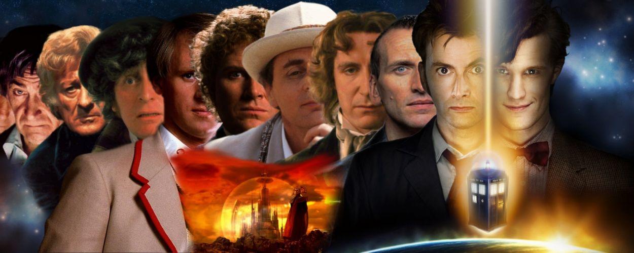 DOCTOR WHO bbc sci-fi futuristic series comedy adventure drama 1dwho tardis wallpaper