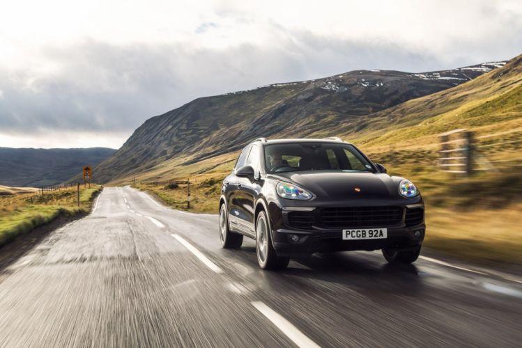 Porsche Cayenne S Diesel UK-spec (958) cars suv 2014 wallpaper