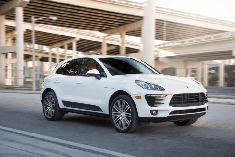 Porsche Macan S US-spec (95B) cars suv 2015 wallpaper