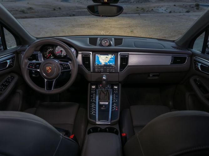 Porsche Macan S US-spec (95B) cars suv 2015 wallpaper