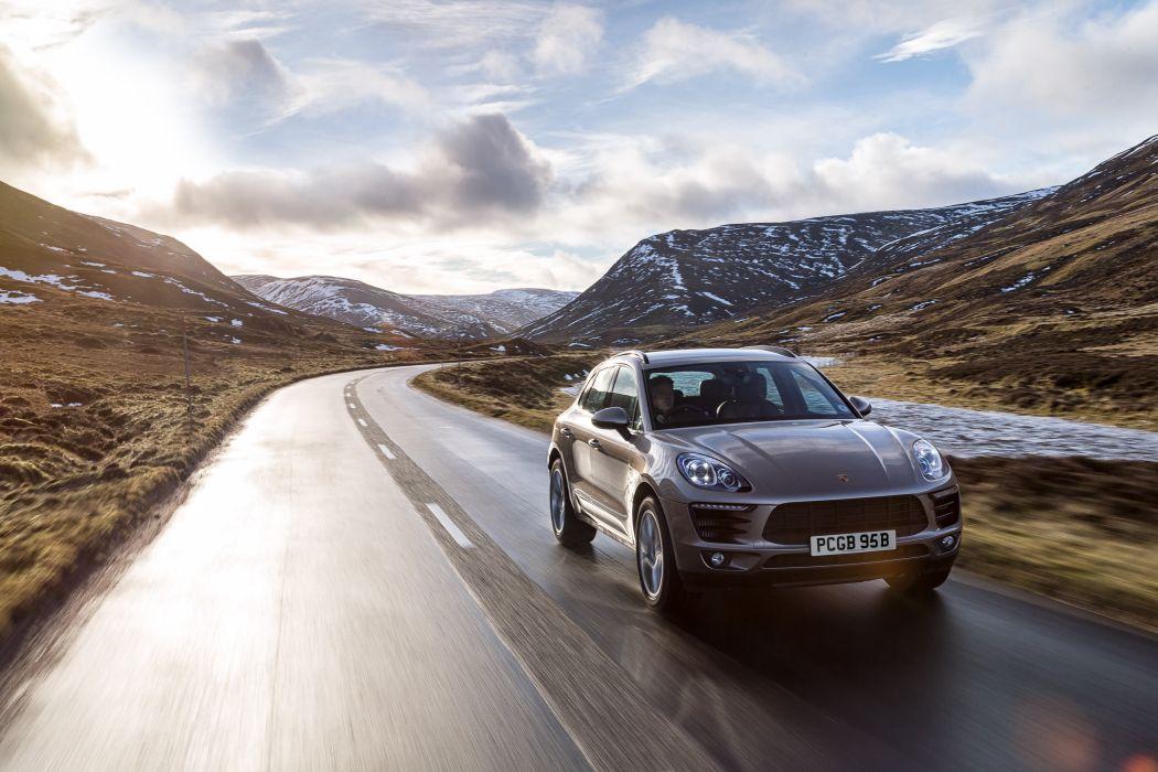 Porsche Macan S UK-spec (95B) cars suv 2014 wallpaper
