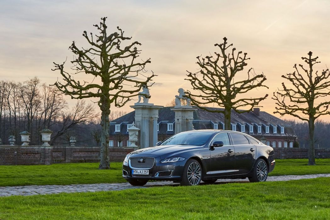 Jaguar XJ-L Autobiography Worldwide (X351) cars sedan 2015aei wallpaper