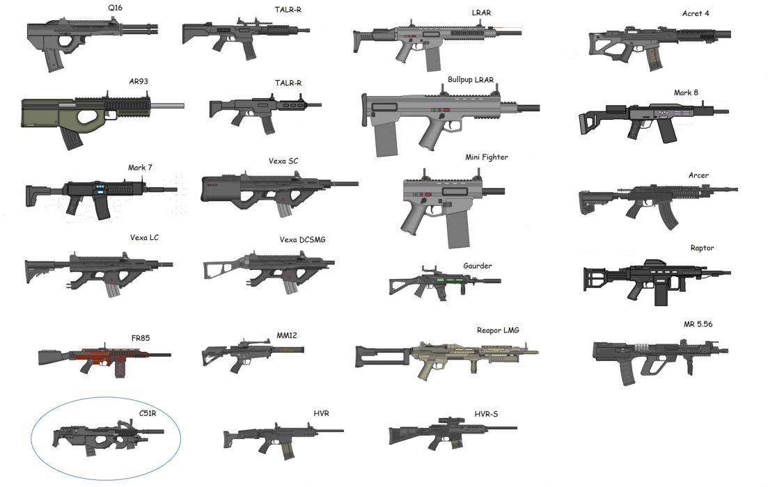 gun weapon guns weapons military machine gun assault rifle police swat wallpaper