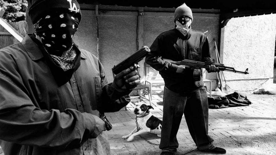 gun weapon guns weapons military machine gun assault rifle police swat handgun pistol gangsta rap rapper wallpaper