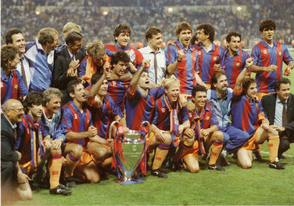 fc barcelona 1992 copa europa futbol wallpaper