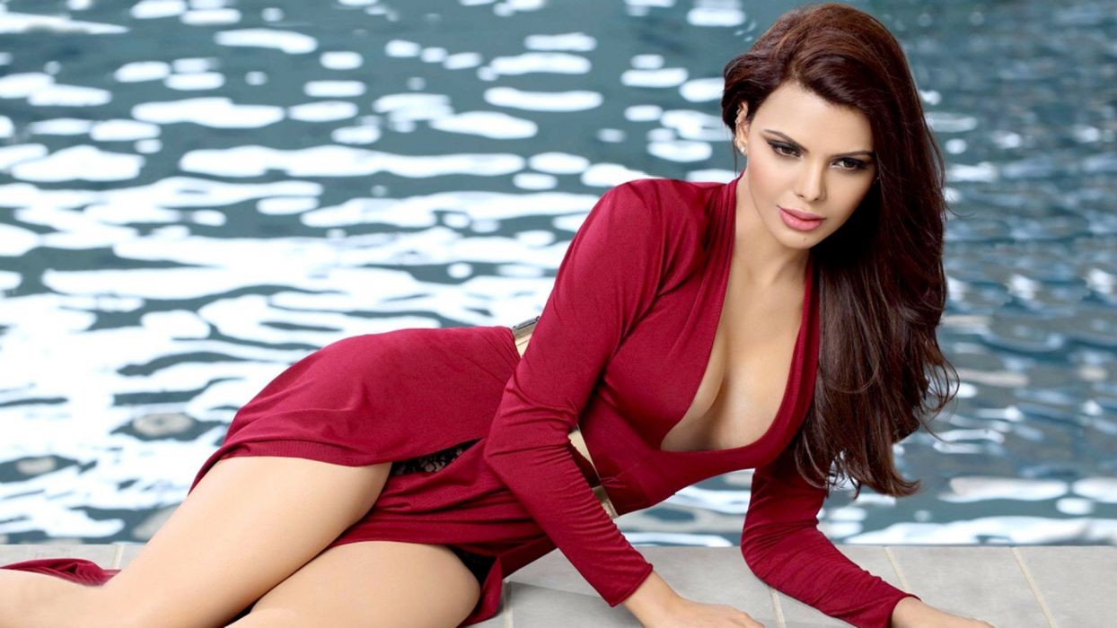 sherlyn chopra bollywood actress model girl beautiful brunette pretty cute beauty sexy hot pose face eyes hair lips smile figure indian  wallpaper