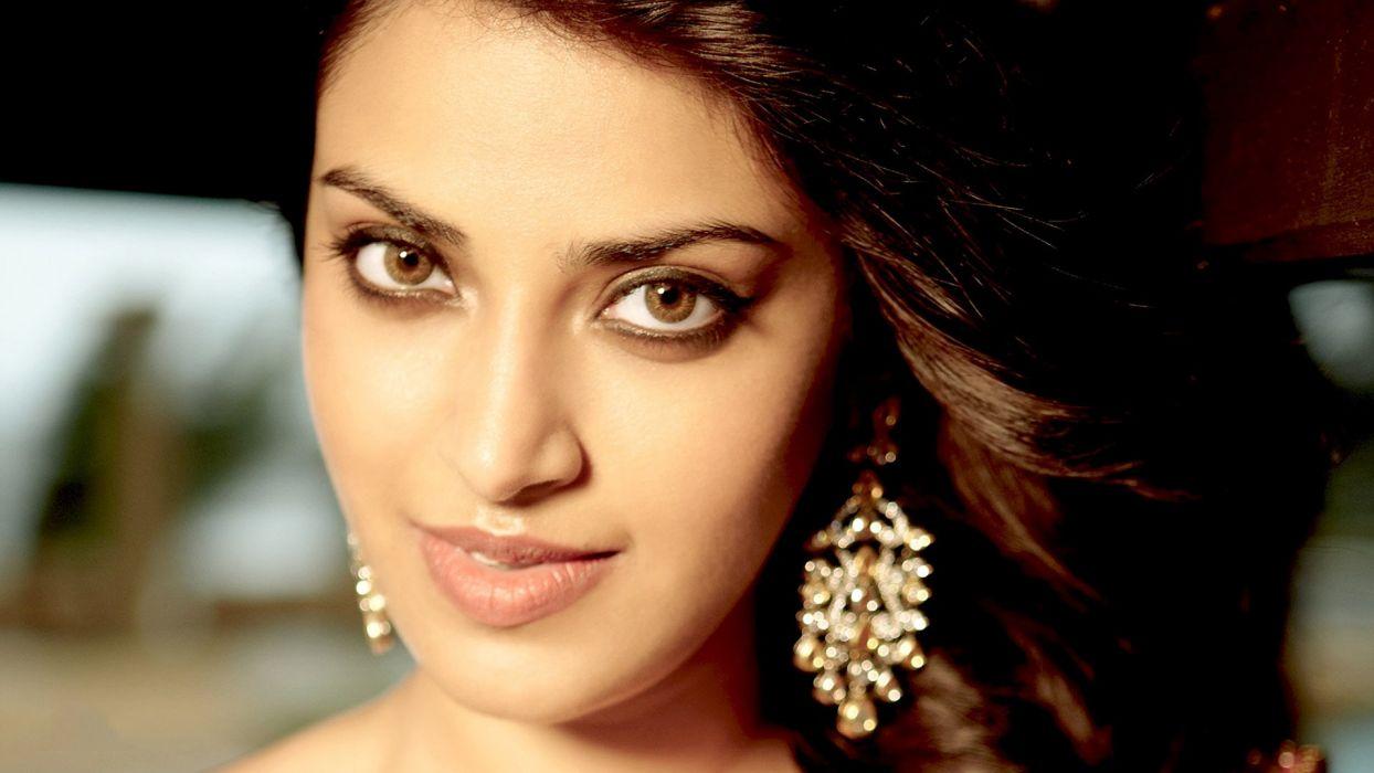 anushka ranjan bollywood actress model girl beautiful brunette pretty cute beauty sexy hot pose face eyes hair lips smile figure indian  wallpaper