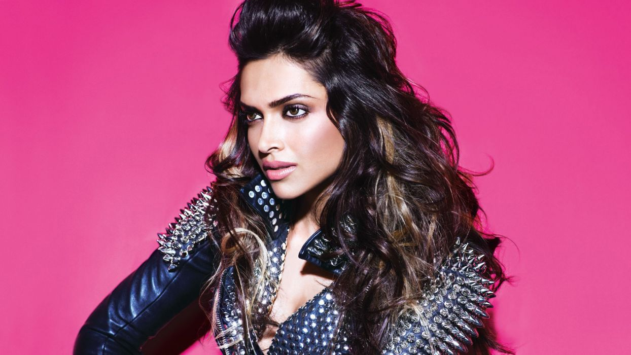 deepika padukone bollywood actress model girl beautiful brunette pretty cute beauty sexy hot pose face eyes hair lips smile figure indian  wallpaper