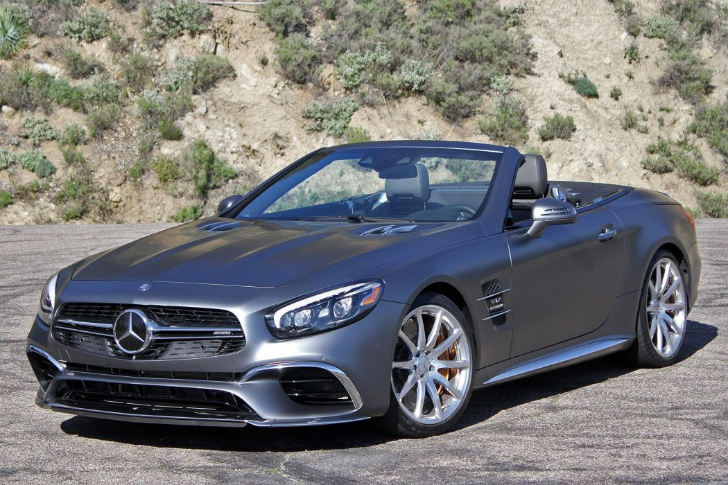 2016 Mercedes AMG SL65 cars convertible wallpaper